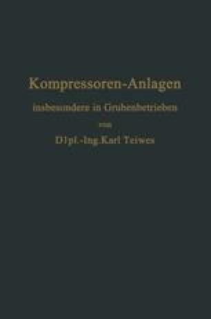 Kompressoren-Anlagen