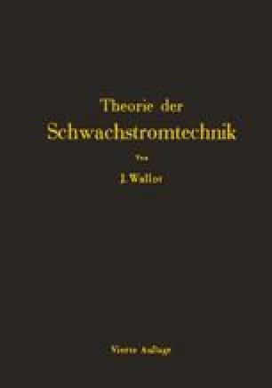 Einführung in die Theorie der Schwachstromtechnik