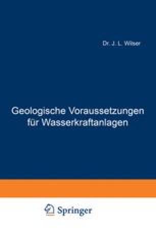 Geologische Voraussetzungen für Wasserkraftanlagen