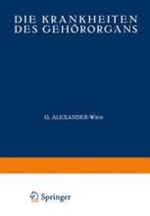 Phylogenese und vergleichende Anatomie des Gehörorgans | SpringerLink