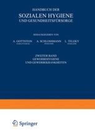 Handbuch der Soƶialen Hygiene und Gesundheitsfürsorge