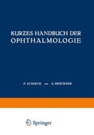 Kurƶes Handbuch der Ophthalmologie