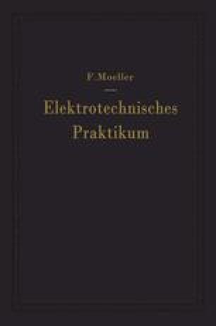 Elektrotechnisches Praktikum