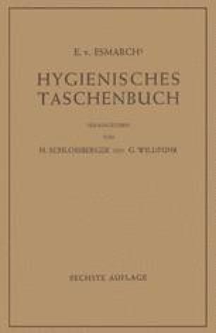 Hygienisches Taschenbuch