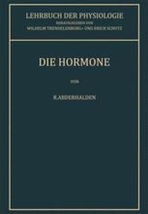 Die Hormone | SpringerLink