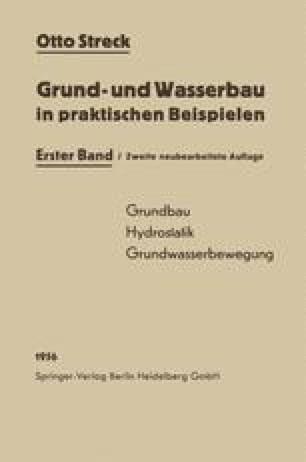 Grund- und Wasserbau in praktischen Beispielen