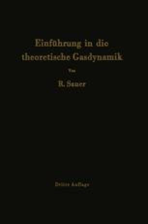 Einführung in die theoretische Gasdynamik