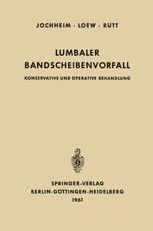 Lumbaler Bandscheibenvorfall