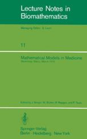 Mathematical Models in Medicine