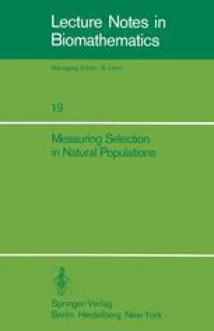 Measuring Selection in Natural Populations