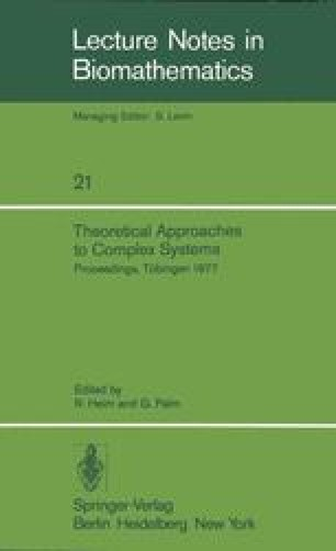 Theoretical Approaches to Complex Systems