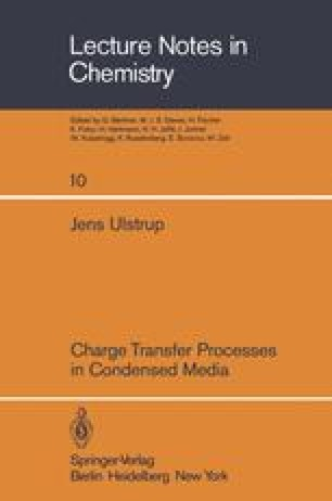 Charge Transfer Processes in Condensed Media