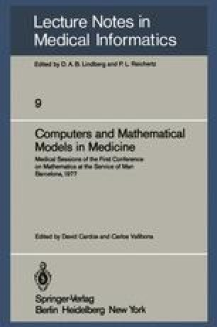 Computers and Mathematical Models in Medicine