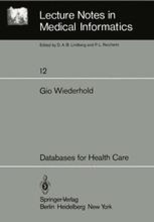 Databases for Health Care