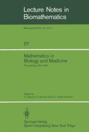 Mathematics in Biology and Medicine
