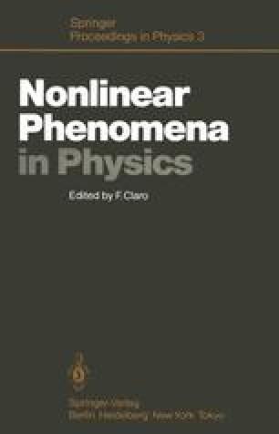 Nonlinear Phenomena in Physics
