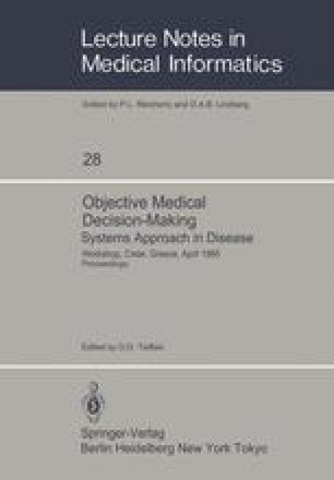 Objective Medical Decision-Making Systems Approach in Disease