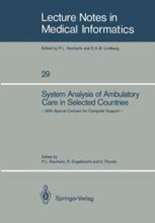 System Analysis of Ambulatory Care in Selected Countries