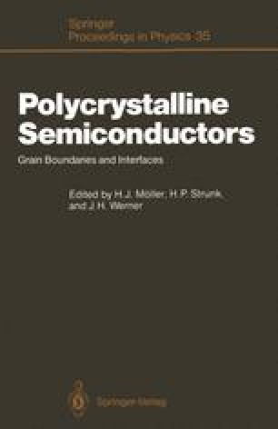 Polycrystalline Semiconductors