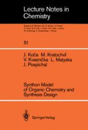 Synthon Model of Organic Chemistry and Synthesis Design