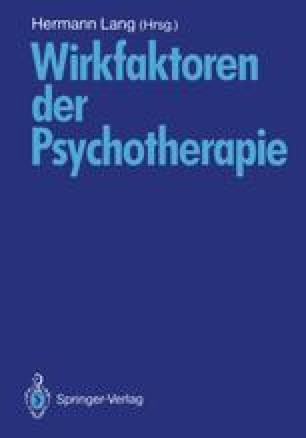 Wirkfaktoren der Psychotherapie