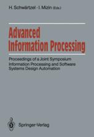 Advanced Information Processing