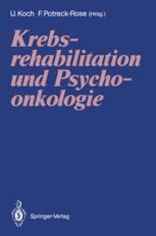 Krebsrehabilitation und Psychoonkologie