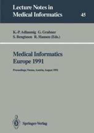 Medical Informatics Europe 1991