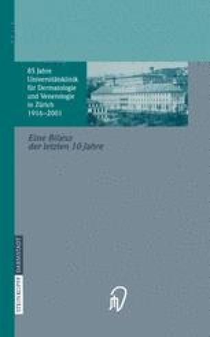 85 Jahre Universitätsklinik für Dermatologie und Venerologie Zürich (1916–2001)