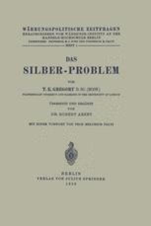 Das Silber-Problem