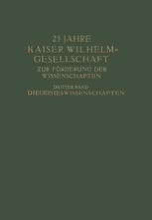 25 Jahre Kaiser Wilhelm-Gesellschaft
