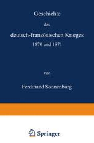 Geschichte des deutsch-französischen Krieges 1870 und 1871
