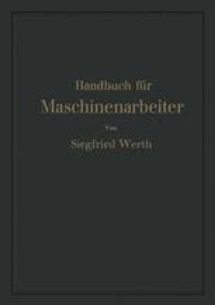Handbuch für Maschinenarbeiter