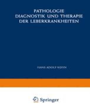 Pathologie, Diagnostik und Therapie der Leberkrankheiten