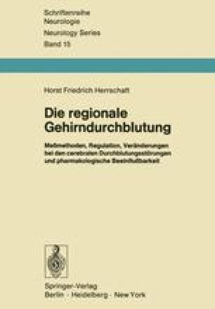 Die regionale Gehirndurchblutung