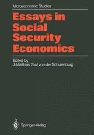 Essays in Social Security Economics