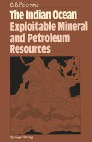 The Indian Ocean: Exploitable Mineral and Petroleum Resources