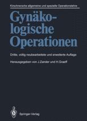 Gynäkologische Operationen