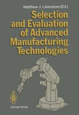 Selection and Evaluation of Advanced Manufacturing Technologies