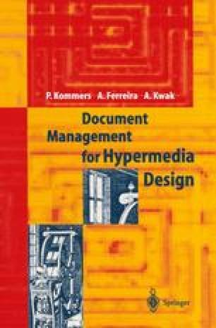 Document Management for Hypermedia Design