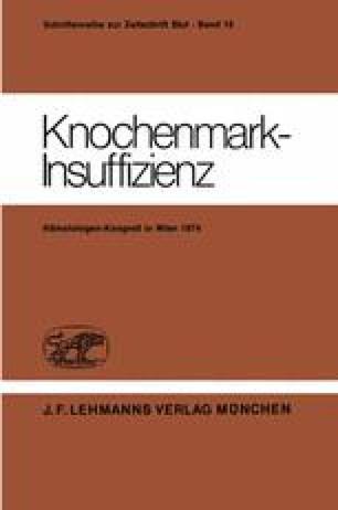 Knochenmark-Insuffizienz
