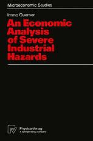 An Economic Analysis of Severe Industrial Hazards
