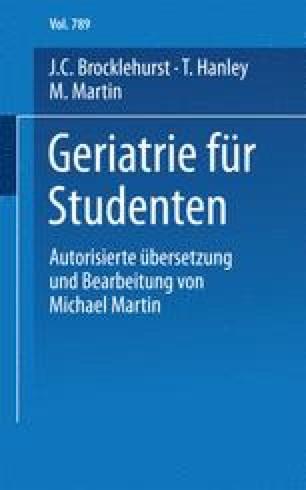 Geriatrie für Studenten