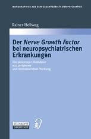 Der Nerve Growth Factor bei neuropsychiatrischen Erkrankungen