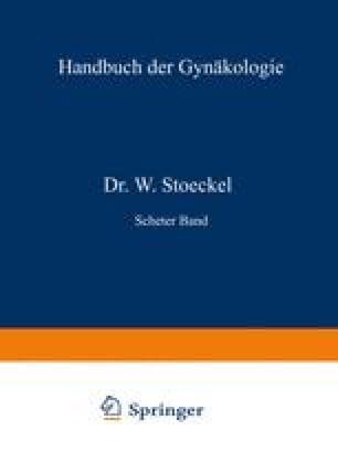 Anatomie und Diagnostik der Carcinome, der Bindegewebsgeschwülste und Mischgeschwülste des Uterus, der Blasenmole und des Chorionepithelioma malignum