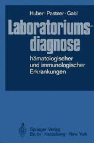 Laboratoriumsdiagnose hämatologischer und immunologischer Erkrankungen