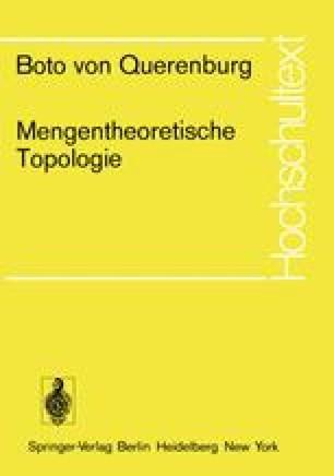 Mengentheoretische Topologie