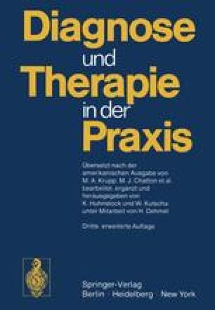 Diagnose und Therapie in der Praxis