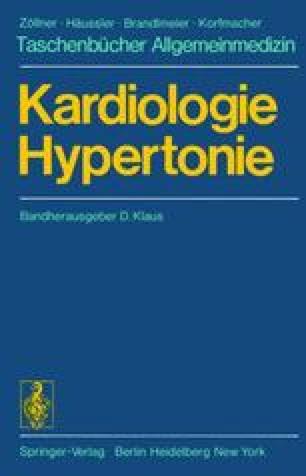 Kardiologie Hypertonie