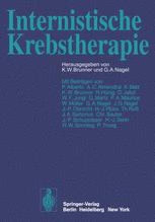 Internistische Krebstherapie